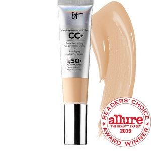 NIB It Cosmetics CC+ Cream with SPF 50+ in Fair